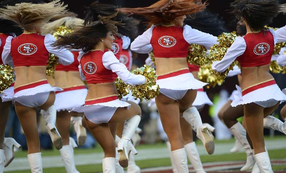 The San Francisco 49ers Gold Rush Cheerleaders performs against the Detroit Lions at Candlestick Park on September 16, 2012 in San Francisco, California. The 49ers won the game 27-19. Photo: Thearon W. Henderson, Getty Images / 2012 Thearon W. Henderson