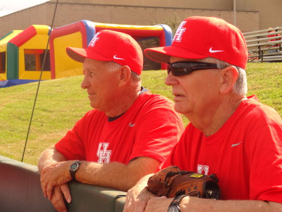 Ike Lucas, left, and Rick Brewer were members of the Cougars' 1967 College World Series team that finished runner-up to Arizona State.