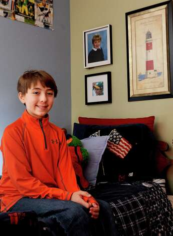 Jack Arnold poses for a photo in his Fairfield home on Saturday, February 2, 2013. Arnold will be visiting the Stamford IHOP on Tuesday, February 5, during to help the restaurant's nationwide effort to raise money for children's hospitals. Photo: Lindsay Perry / Stamford Advocate