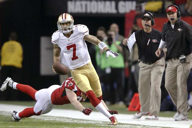 Niners quarterback Colin Kaepernick has injected new life into what had been a stagnant offense at times this season. Photo: Michael Macor, The Chronicle