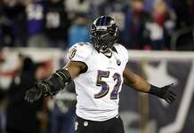 Ravens linebacker Ray Lewis has been dominant since his return from an elbow...