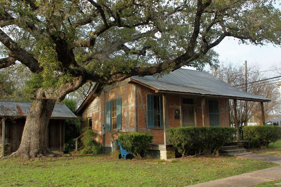 The J.C. Stiehl family home built in 1852 is featured in Buildings of Texas Volume 1 written by Gerald Moorhead Tuesday, Jan. 29, 2013, in La Grange. Photo: Johnny Hanson, Houston Chronicle / © 2013  Houston Chronicle