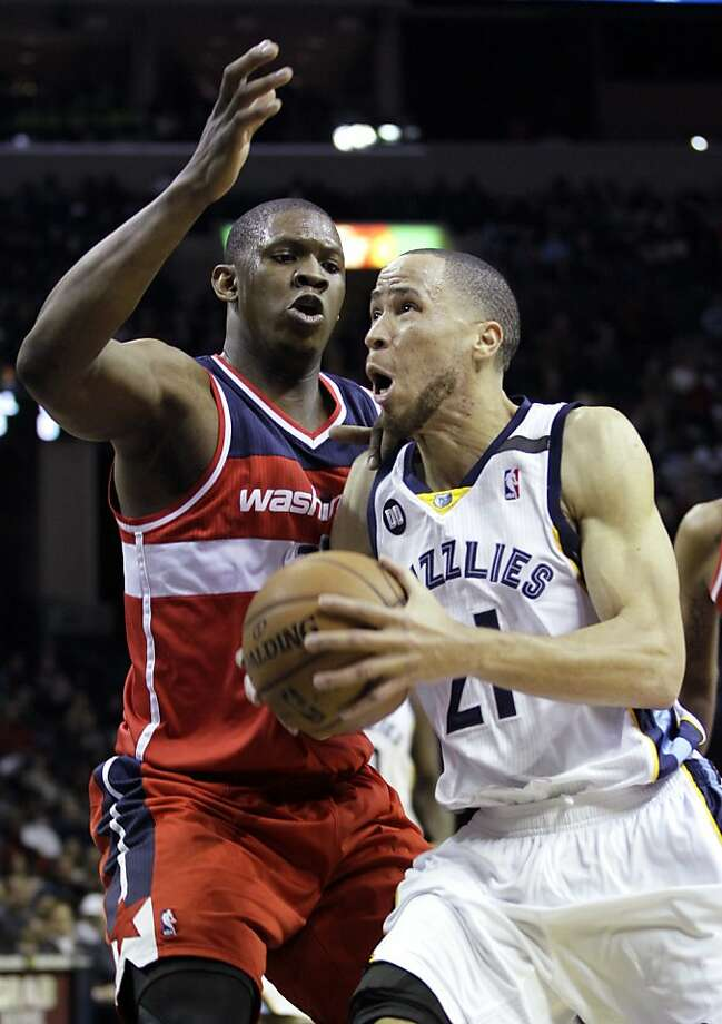 Tayshaun Prince, the Grizzlies' small forward after the departure of Rudy Gay, is defensive minded and playoff wise. Photo: Danny Johnston, Associated Press