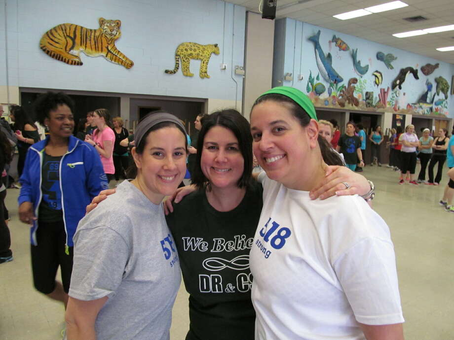 Were you Seen at the Zumbathon fundraiser for memorial scholarships set up by the families of Deanna Rivers and Chris Stewart, held at the Orenda/Karigon Elementary School in Clifton Park on Saturday, Feb. 2, 2013? Photo: Kristi Gustafson Barlette/Times Union