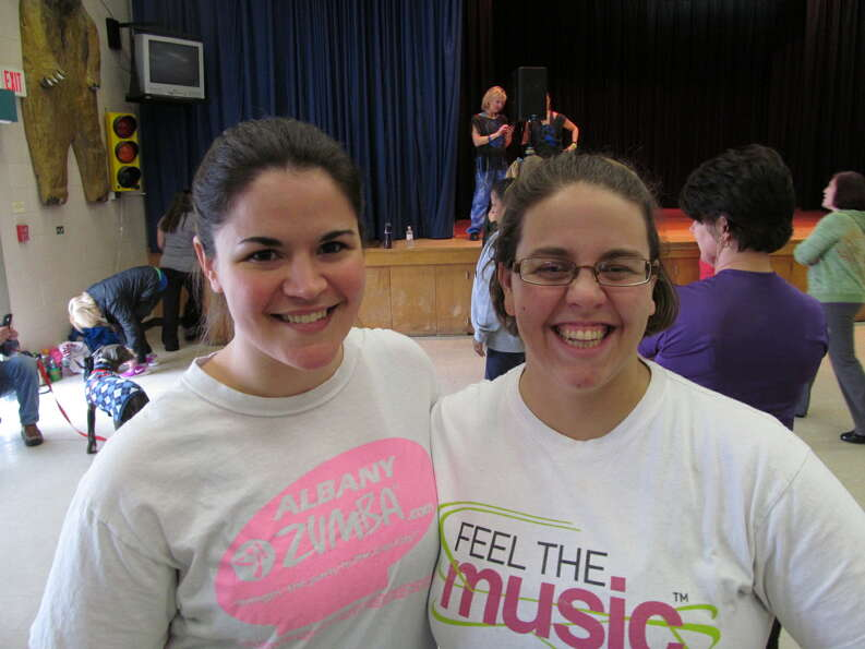 Were you Seen at the Zumbathon fundraiser for memorial scholarships set up by the families of Deanna
