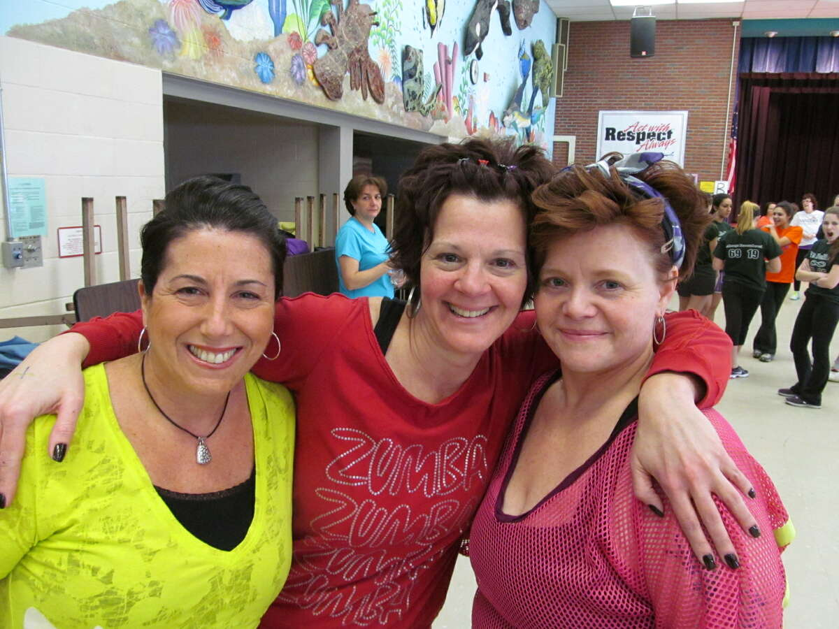 Were you Seen at the Zumbathon fundraiser for memorial scholarships set up by the families of Deanna Rivers and Chris Stewart, held at the Orenda/Karigon Elementary School in Clifton Park on Saturday, Feb. 2, 2013?
