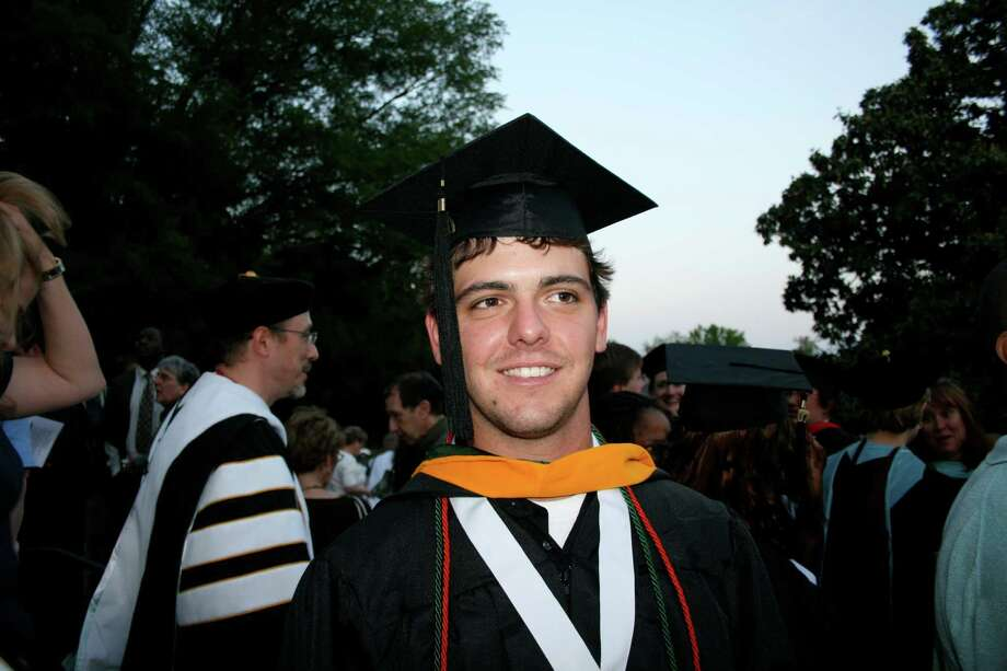 An undated handout photo of Richard Fee at graduation. The 2011 suicide of Richard Fee highlights issues in the diagnosis and treatment of ADHD, as growing numbers of youths fake symptoms to obtain steady prescriptions for stimulants that carry serious psychological dangers. (Courtesy of the Fee family via The New York Times) -- NO SALES; FOR EDITORIAL USE ONLY WITH STORY SLUGGED STIMULANTS ADDICTION BY ALAN SCHWARZ. ALL OTHER USE PROHIBITED. Photo: COURTESY OF THE FEE FAMILY, HO / COURTESY OF THE FEE FAMILY