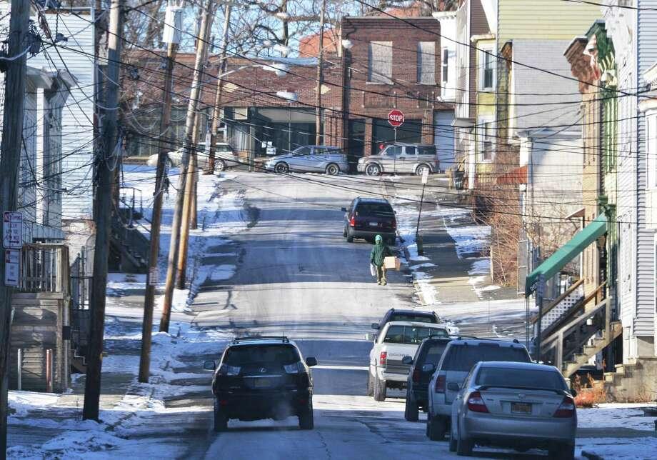 Elk Street in Albany Thursday Jan. 24, 2013.   (John Carl D'Annibale / Times Union) Photo: John Carl D'Annibale / 00020897A