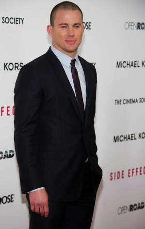 "Channing Tatum attends the premiere of ""Side Effects"" hosted by the Cinema Society and Open Road Films on Thursday, Jan. 31, 2013 in New York. (Photo by Charles Sykes/Invision/AP) Photo: Charles Sykes"