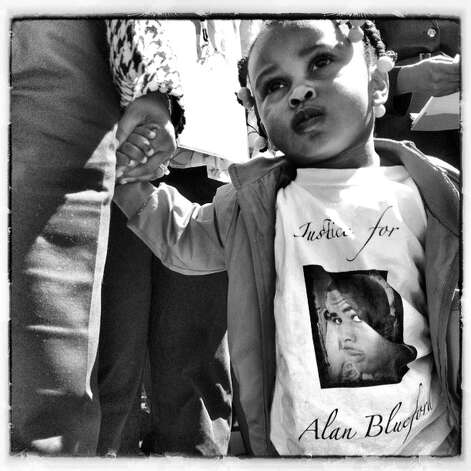 Justice for Alan Blueford. -Lacy Atkins @GunsGodandGrief
