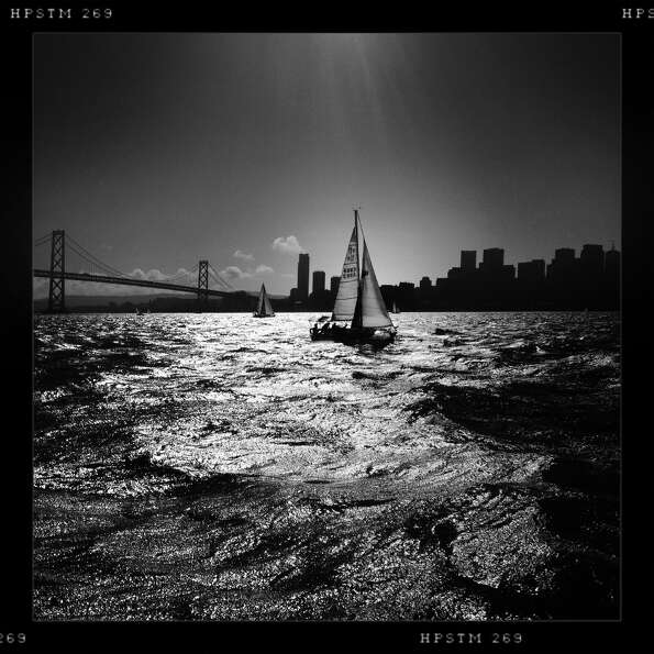 A boats-eye view of the San Francisco Bay.-Mike Kepka @cityexposed