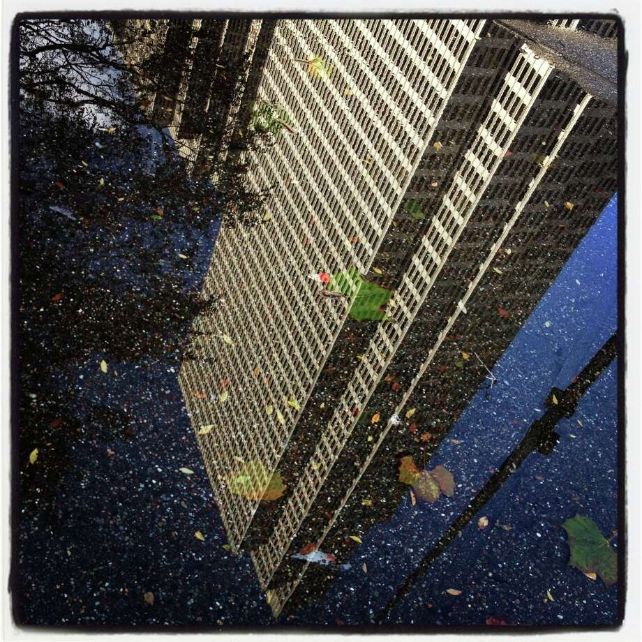 Embarcadero Center after the rain.-Paul Chinn @sfchronphotos Photo: Paul Chinn, The Chronicle / SFC