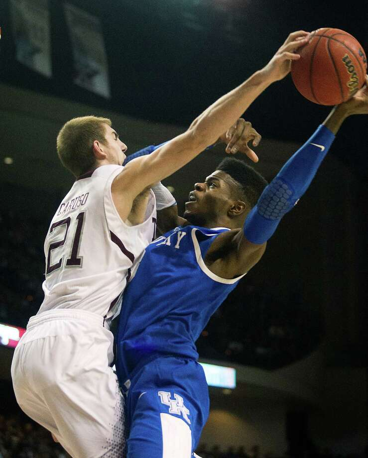 Kentucky's latest freshman phenom, forward Nerlens Noel, scored a season-high 19 points. Photo: Patric Schneider, FRE / FR170473 AP