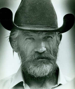 "Slave Ranch Trial-Kerr County courthouse, witness Dennis ""Pete"" Johnson . 5-23-1986 Photo: San Antonio Express-News"