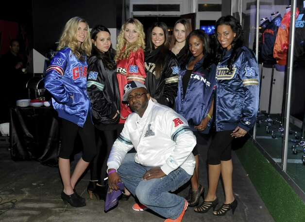 What the Starter party was all about: the jackets. Photo: Vivien Killilea, Getty Images For Starter / 2013 Getty Images