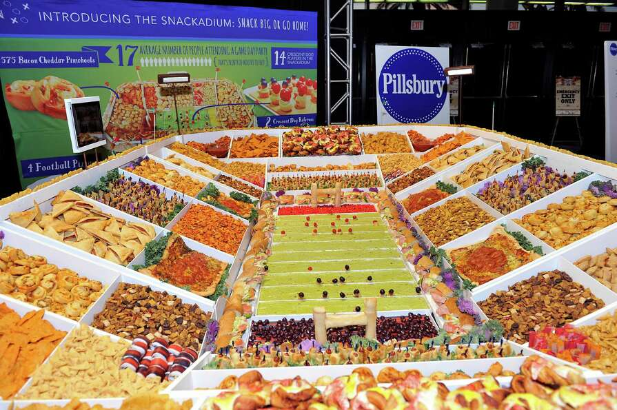 Tonight's MVP just might be someone who can get this Pillsbury snack stadium to someone who's hungry