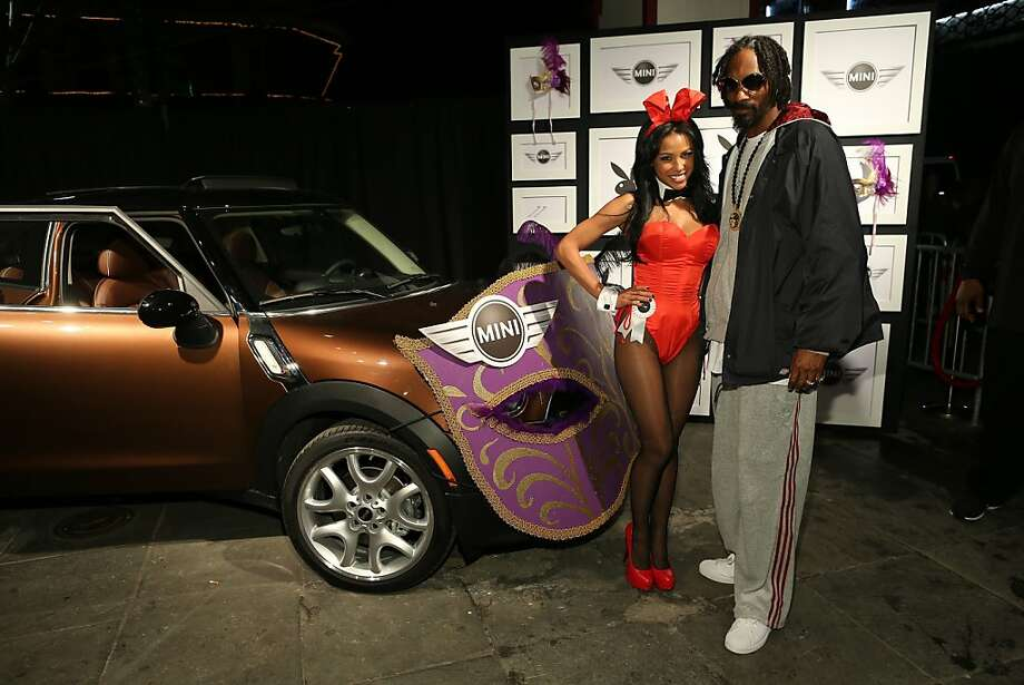 Snoop Dogg at the Playboy party Photo: Neilson Barnard, Getty Images For Playboy