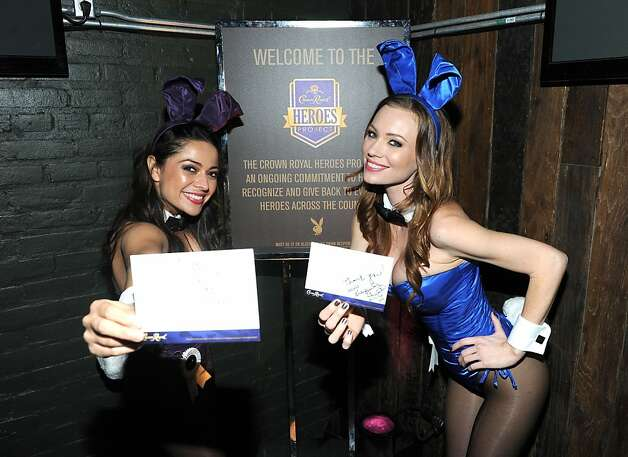 NEW ORLEANS, LA - FEBRUARY 01:  Playboy Playmates attend The Playboy Party Presented by Crown Royal on February 1, 2013 in New Orleans, Louisiana.  (Photo by Jamie McCarthy/Getty Images for Playboy) Photo: Jamie McCarthy, Getty Images For Playboy