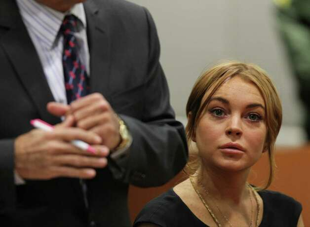 Lindsay Lohan - Exhibit M Photo: AP
