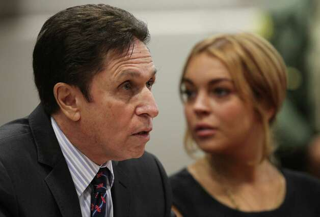 Lindsay Lohan - Exhibit K Photo: AP