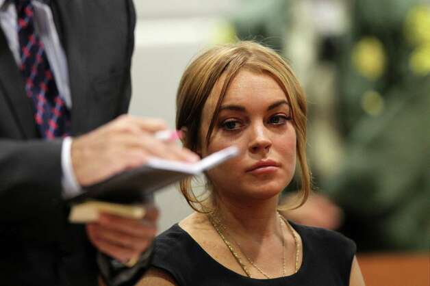 Lindsay Lohan - Exhibit E Photo: AP