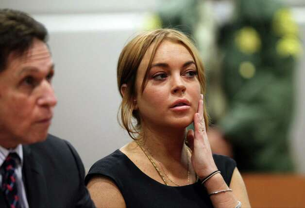 Lindsay Lohan - Exhibit F Photo: AP