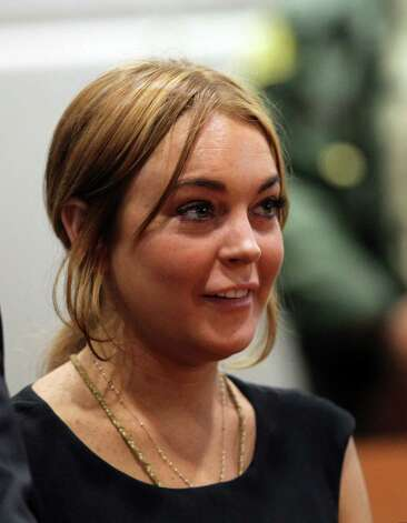 Lindsay Lohan - Exhibit H Photo: AP