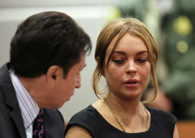 Lindsay Lohan - Exhibit B Photo: David McNew, Getty / 2013 Getty Images