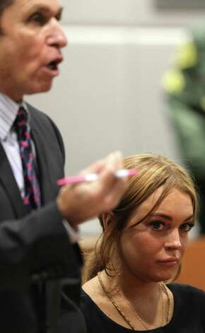 Lindsay Lohan - Exhibit D Photo: DAVID MCNEW, Getty / 2013 AFP