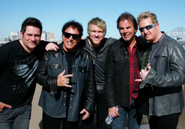 Journey and Rascal Flatts join forces for a CMT concert in the Big Easy. Photo: John Carucci, Associated Press / AP