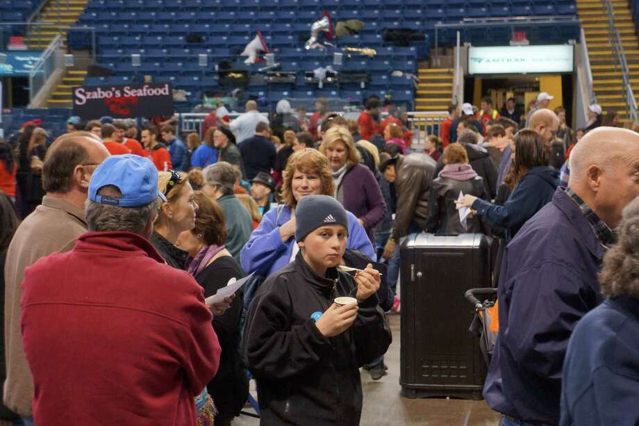 Were you seen at the Chowdafest at the Webster Bank Arena Sunday? 2/3/2013 Photo: Todd Tracy