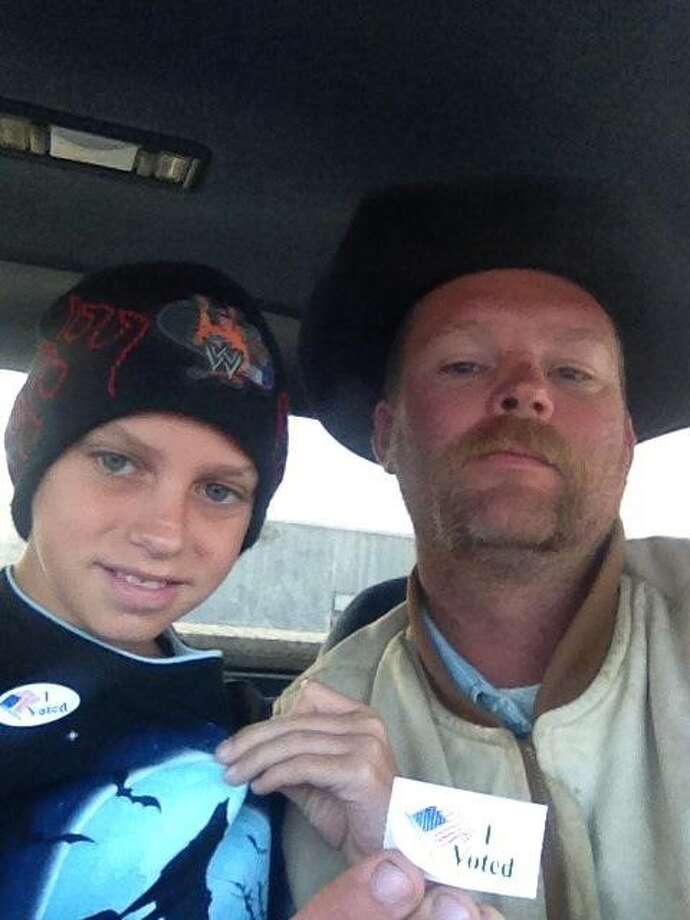 Jarrod Barclay Wittneben, right, was killed Friday in a work accident.