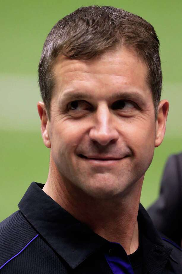 The Ravens' John Harbaugh prepares to coach against his brother. Photo: Jamie Squire, Getty Images / 2013 Getty Images