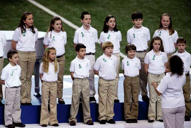 Sandy Hook survivors to pay tribute to massacred classmates by singing before Super Bowl