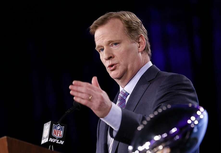 Roger Goodell noted the high incidence of girls' soccer concussions. Photo: Michael Macor, The Chronicle