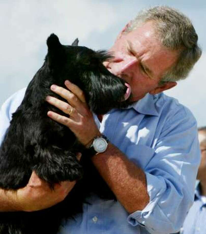 George W. Bush called Barney the son I never had.