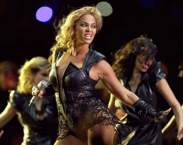 Beyonce performs during the Pepsi Super Bowl XLVII Halftime Show at Mercedes-Benz Superdome on February 3, 2013 in New Orleans, Louisiana. Photo: Christopher Polk, Getty / 2013 Getty Images