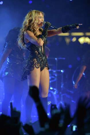 Singer  Beyonce performs during the Pepsi Super Bowl XLVII Halftime Show at Mercedes-Benz Superdome on February 3, 2013 in New Orleans, Louisiana.  (Photo by Jeff Kravitz/FilmMagic) Photo: Jeff Kravitz, Getty / 2013 Jeff Kravitz
