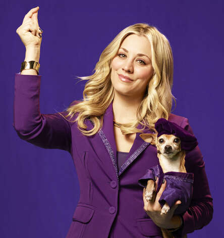 Kaley Cuoco of 'The Big Bang Theory' stars in a fun Toyota spot as a genie who grants wishes for an average family. Photo: Toyota