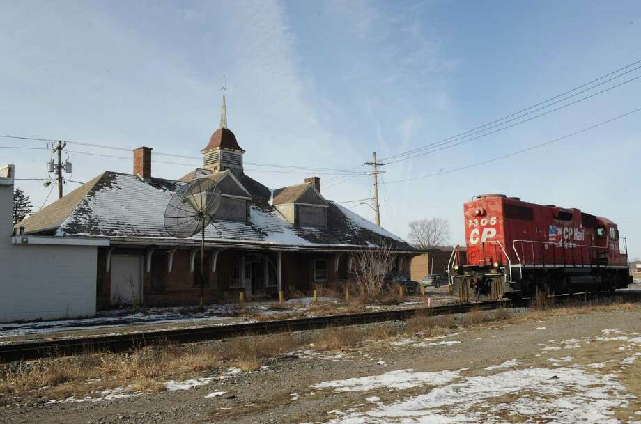 Old Mechanicville train station Friday morning, Jan. 25, 2013, in Mechanicville, N.Y. (Michael P. Farrell/Times Union) Photo: Michael P. Farrell