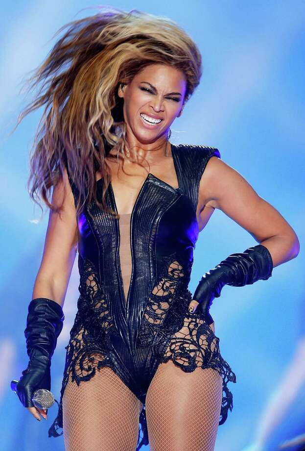 NEW ORLEANS, LA - FEBRUARY 03:  Singer Beyonce performs during the Pepsi Super Bowl XLVII Halftime Show at the Mercedes-Benz Superdome on February 3, 2013 in New Orleans, Louisiana.  (Photo by Chris Graythen/Getty Images) Photo: Chris Graythen, Staff / 2013 Getty Images