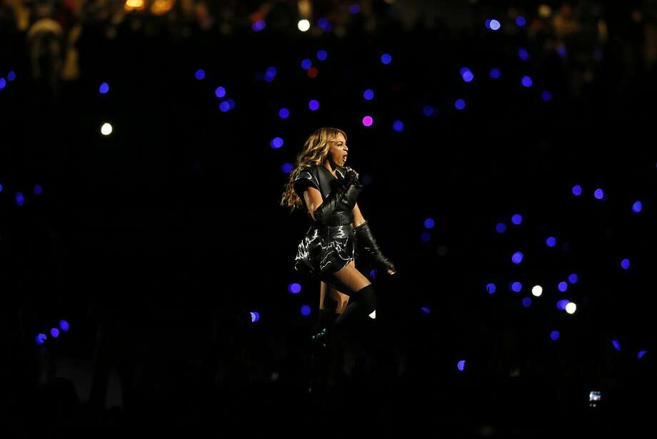 Beyonce performs during halftime at Superbowl XLVII between the San Francisco 49ers and the Baltimore Ravens at the Mercedes-Benz Superdome on Sunday February 3, 2013 in New Orleans, La. Photo: Michael Macor, The Chronicle
