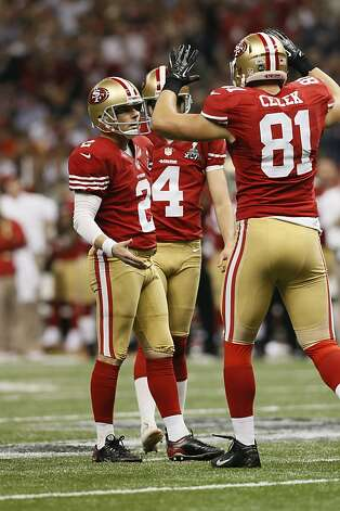 Kicker David Akers (2) in the second half of Superbowl XLVII between the San Francisco 49ers and the Baltimore Ravens at the Mercedes-Benz Superdome on Sunday February 3, 2013 in New Orleans, La. Photo: Michael Macor, The Chronicle