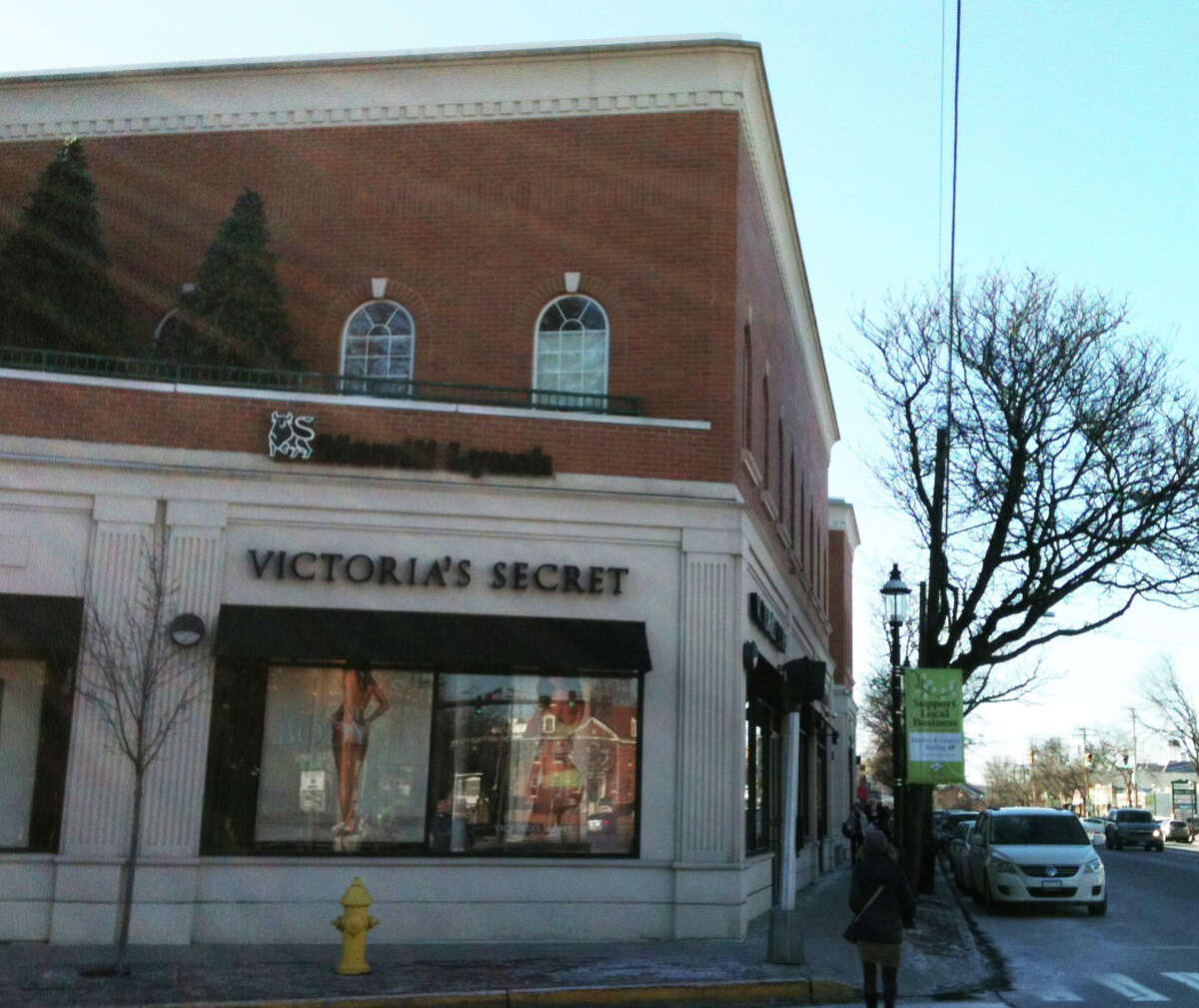 The site where the Fairfield Store once stood, corner of Post and Reef roads, is now the location for a renovated, expanded commercial structure that houses multiple outlets, including Victoria's Secreat and the Fairfield University Bookstore. FAIRFIELD CITIZEN, CT 1/29/13
