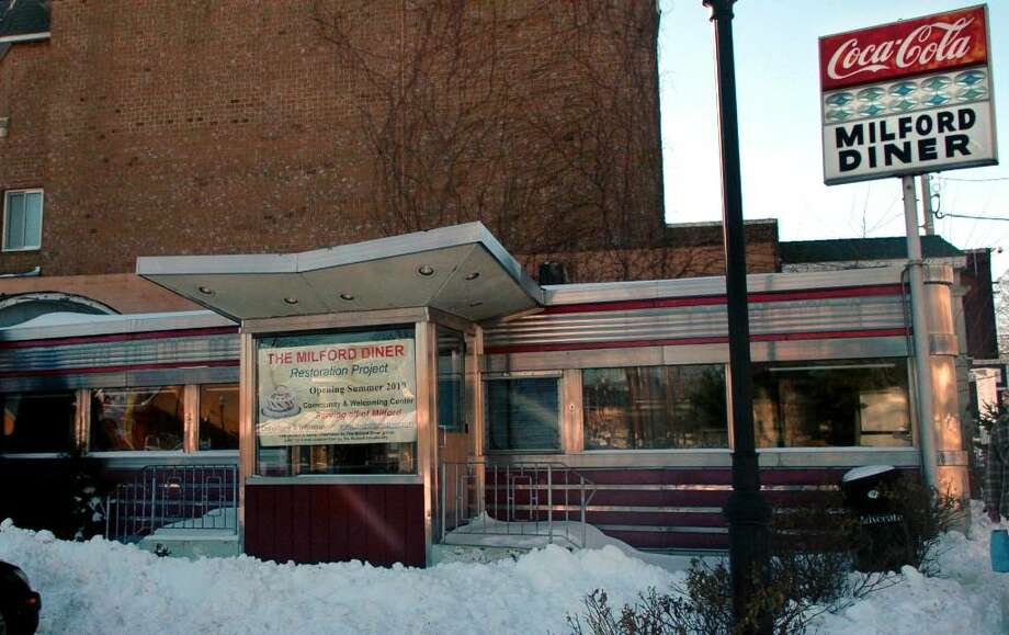 The Milford Diner will soon be restored and turned into a tourist center in time for summer 2010. Photo: Autumn Driscoll / Connecticut Post