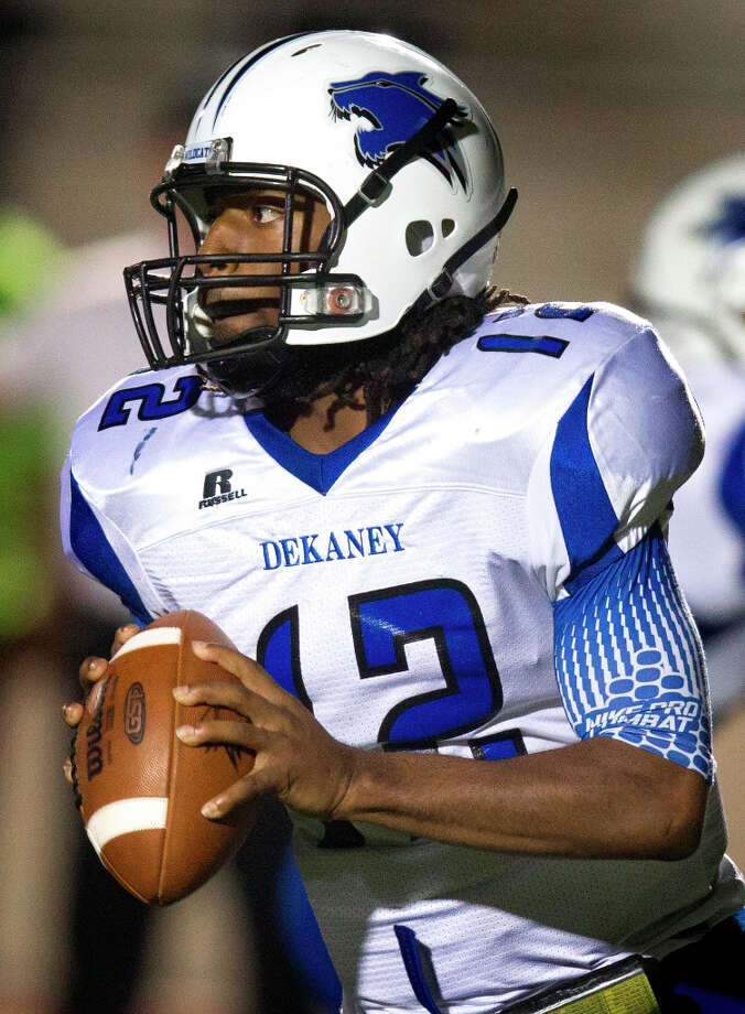 D'Juan Hines, QBSchool: DekaneyHT: 6-2 WT: 195 Signed to: Houston Photo: J. Patric Schneider / © 2012 Houston Chronicle