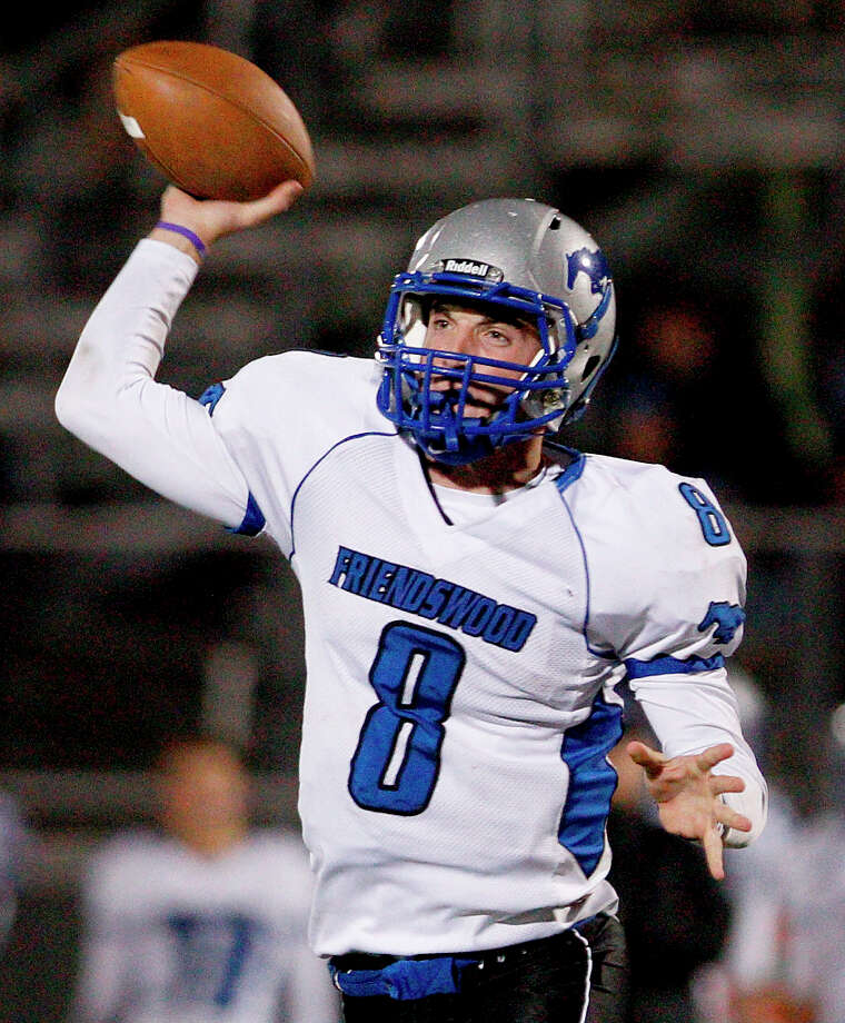 Jordan Wood, QBSchool: FriendswoodHT: 6-3 WT: 170 Signed to: BYU (baseball) Photo: Thomas B. Shea / © 2012 Thomas B. Shea