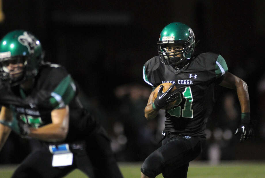 Troy McCormick, RBSchool: Mayde CreekHT: 5-9 WT: 165Signed to: Utah Photo: Jerry Baker, For The Chronicle