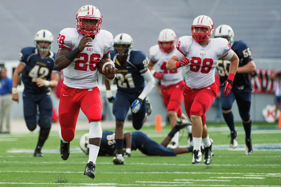 Adam Taylor, RBSchool: KatyHT: 6-2 WT: 200Signed to: Nebraska Photo: Smiley N. Pool, Houston Chronicle / © 2012  Houston Chronicle