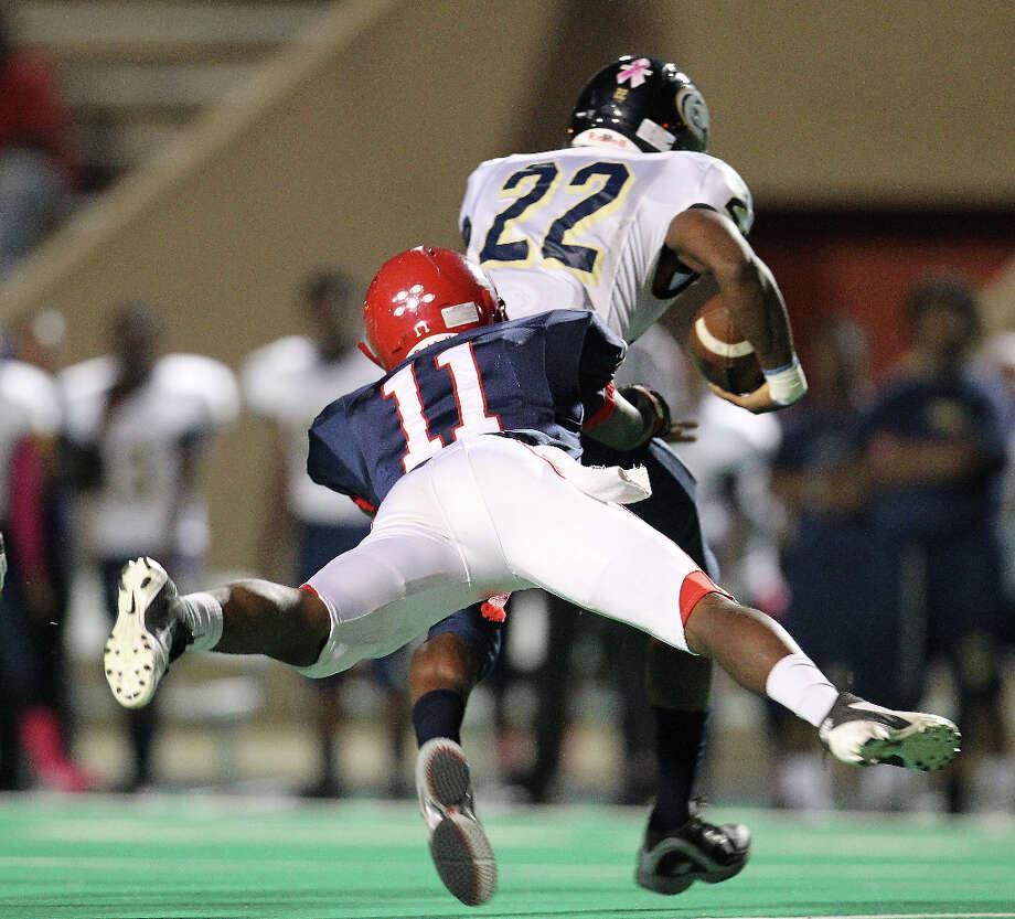 Dre'Vian Young, RBSchool: NimitzHT: 5-10 WT: 180Signed to: Utah Photo: Karen Warren, Houston Chronicle / © 2012  Houston Chronicle